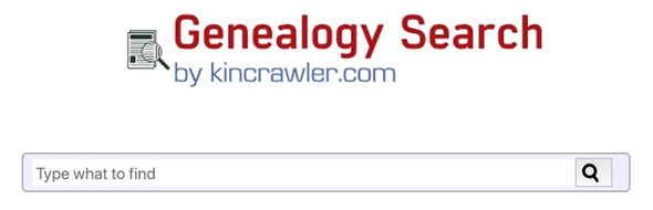 Kincrawler com – A New Genealogy-Specific Search Engine